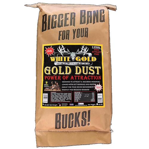 White Gold Gold Dust Attractant 20 lb.