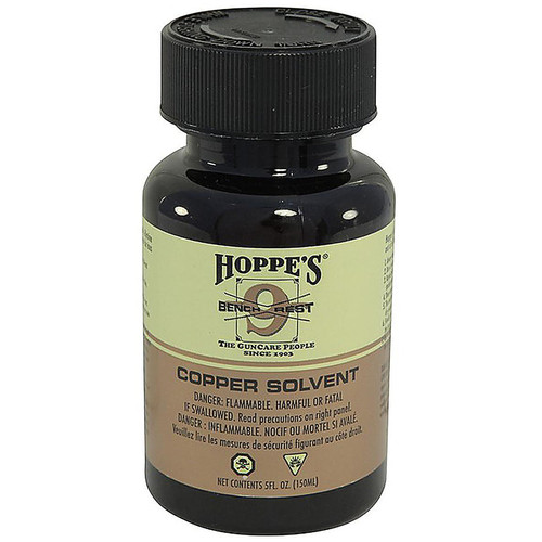 Hoppes #9 Bench Rest Copper Bore Cleaning Solvent Liquid 5 oz., BR904