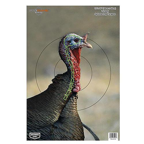 Birchwood Casey Dirty Bird PreGame Animal Targets Turkey 12x18 Inch 8 Per