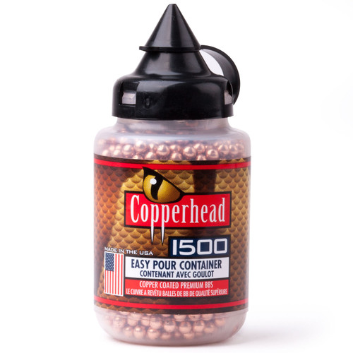 Crosman 0737 Copperhead Airgun BBs 177 Caliber 5.28 Grain