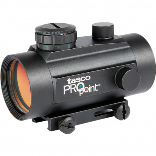Tasco Pro Point Riflescope 1x30 Black 5 MOA Red Dot TRD130T