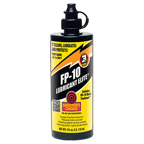 Shooters Choice Model-FP-10 Lubricant Elite 4 Ounce, FPL04