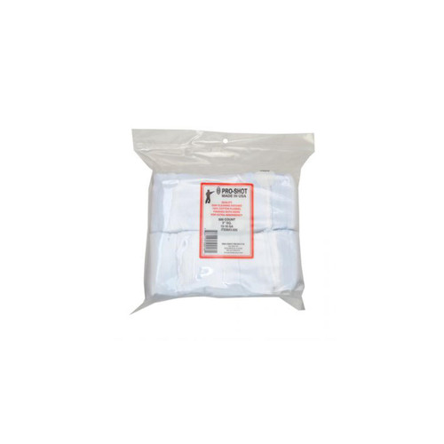 Pro-Shot Firearms Cleaning Cotton Patches 12-16 Gauge 3in 500ct, 3-500