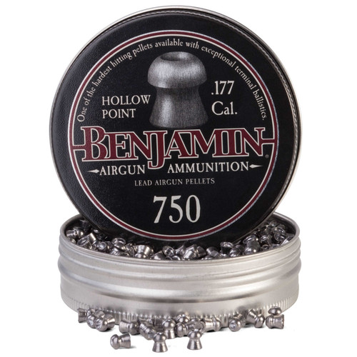 Benjamin 14020 .177 Cal, 7.9 Grains, Hollowpoint, 750ct