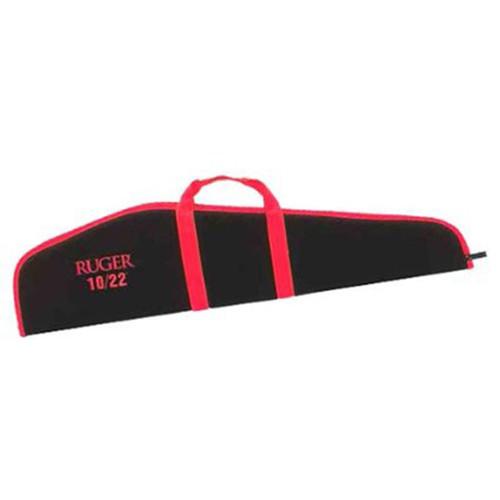 Allen Ruger Scoped Rifle Gun Case 40in Nylon Black with Red Trim, 275-40