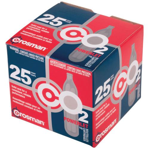 Crosman 2311 Powerlets Co2 Cartridges 25 Pack
