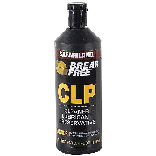 Break-Free CLP Bore Cleaning, Lubricant, Rust Preventative 4oz Liquid CLP410