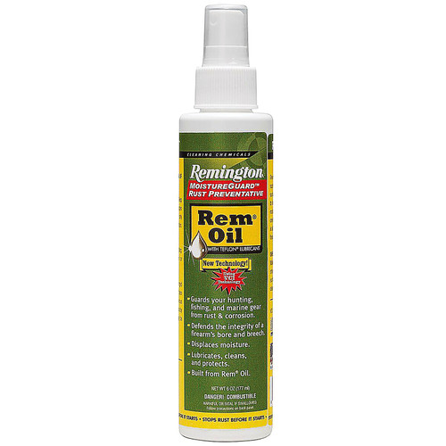 Remington Rem-Oil Liquid Lube 6 oz Spray Bottle, 18378