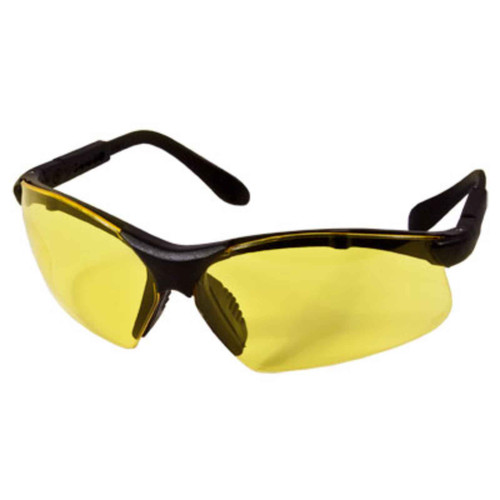 Radians Revelation Glasses Amber Lenses Black Frame, RV0140CS