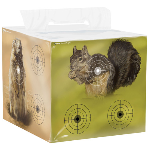 Crosman CAVTB Varmit Target Block H.D. Foam W/4 Animal Images