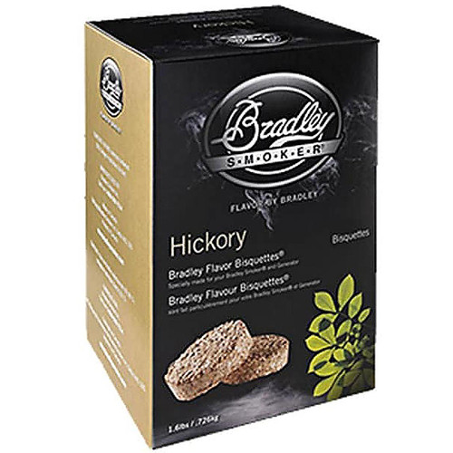 Bradley Smoker Bisquettes Hickory Flavor 24Pk