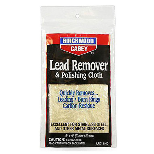 Birchwood Casey Lead Remover Polishing Cloth, 31002