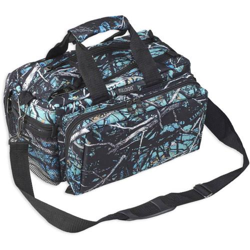 Bulldog Cases Deluxe Range Bag With Strap Nylon Muddy Girl Serenity Camo, BD910SRN
