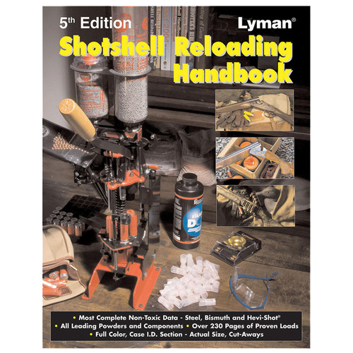 LYMAN 9827111 SHOTSHELL HANDBOOK 5TH ED