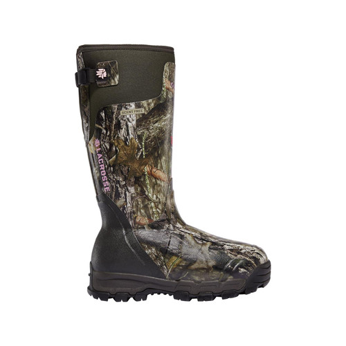 LaCrosse Women's Alphaburly Pro 1600G Hunting Shoes Mossy Oak Break up Country