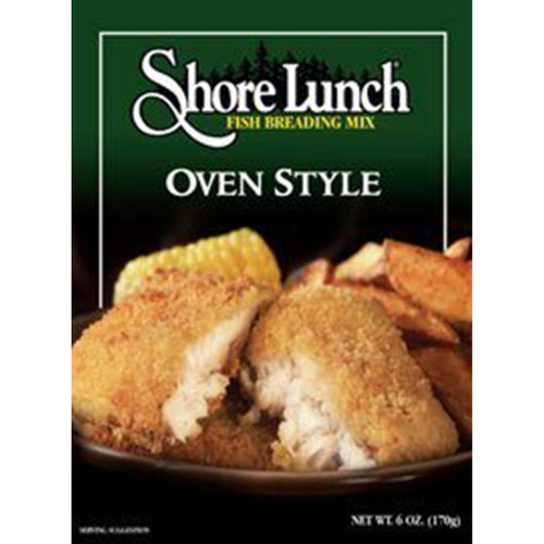 Shore Lunch Fish Breading Mix Oven Style