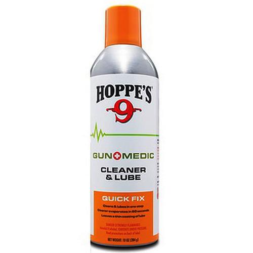Hoppe's Gun Medic Cleaner & Lube Quick Fix 10oz Aerosol, GM2