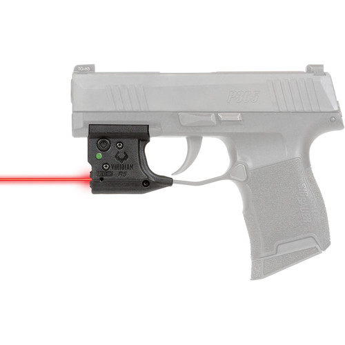 VIRIDIAN WEAPON TECHNOLOGIES, Reactor 5 G2Laser Sight, Sig Sauer P365, Red Laser