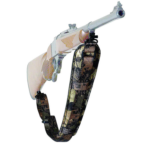 Outdoor Connection Padded Super-Sling W/Quick Release Swivels Mossy, AD-20916