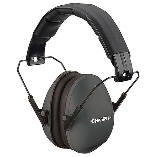 Champion Champion Slim Passive Ear Muff 21dB Noise Reduction Black, 40971