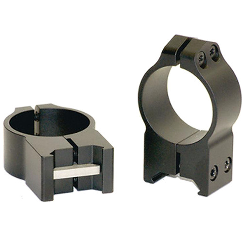 Warne Maxima Fixed Attach Weaver/Picatinny Style Scope Ring 30mm, 215M