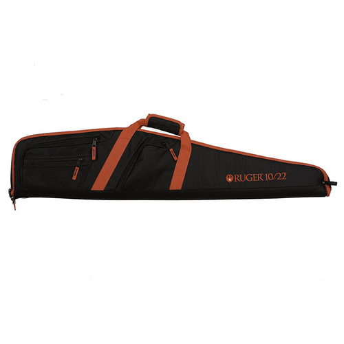Allen Ruger Flagstaff 10/22 Soft Rifle Case 40in Red and Black, 375-40