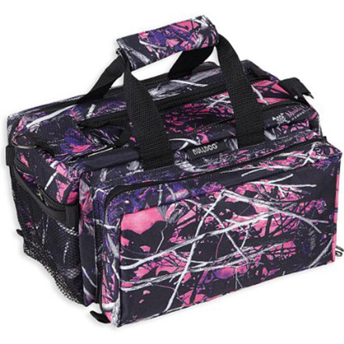 Bulldog Deluxe Muddy Girl Range Bag with Strap, Camo/Black, BD910MDG