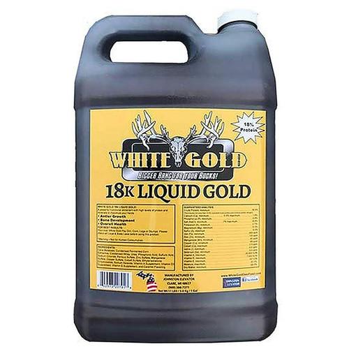 White Gold 18k Liquid Gold