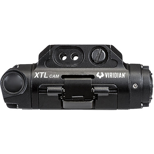 VIRIDIAN XTL Gen 3 Weapon Light and HD Camera, Polymer, Black