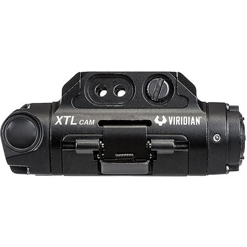 VIRIDIAN WEAPON TECHNOLOGIES, XTL Gen 3 Weapon Light and HD Camera, Polymer, Black