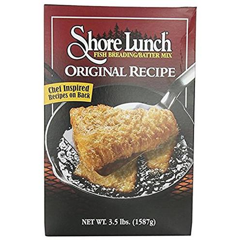 Shore Lunch Fish Breading/Batter Mix Original Recipe 3.5 lbs