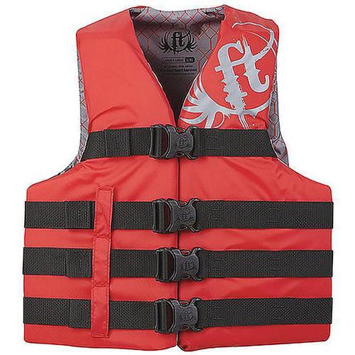 Full Throttle Life Vest S/M/Red