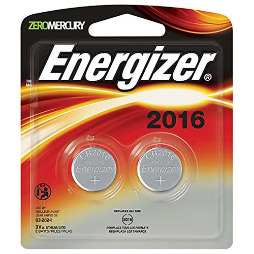 Energizer Lithium 2016 Battery 2-Pack