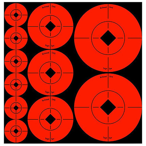 Birchwood Casey Self Adhesive Assorted Target Spots, 33928