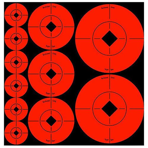 Birchwood Casey Self Adhesive Assorted Target Spots, 33928