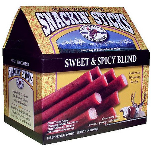 Hi Mountain Seasoning Sweet & Spicy Snackin' Stick Kit