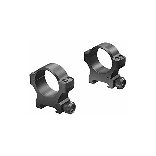 Leupold Backcountry Cross-Slot 1 inch Medium Rings, Matte