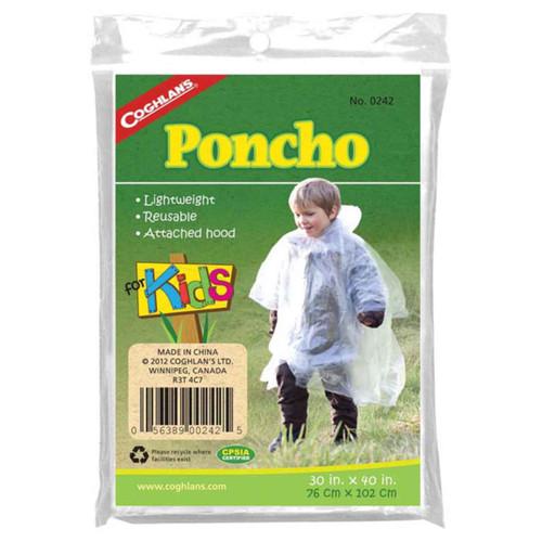 Coghlan's Kid's Clear Poncho