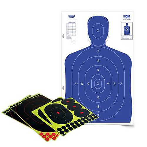 Birchwood Casey Shoot-N-C Silhouette 12x18in Shooting Target Kit, 34602