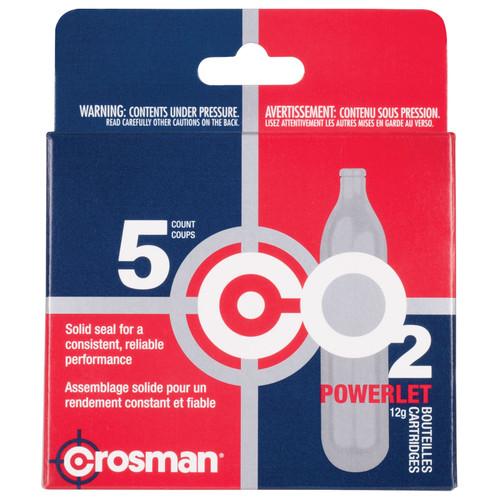 Crosman 231B Copperhead CO2 Powerlets Stainless Steel 12 Grams 5 Pack