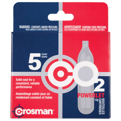 Crosman 231B Copperhead CO2 Powerlets Stainless Steel 12 Grams 5 Pack