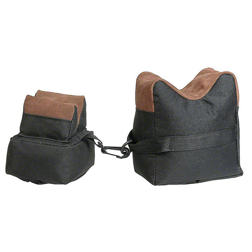 Outdoor Connection Bench Bag 2 Pc Set Fab/Lthr Fill Blk 2 Piece , BRB2F-28213