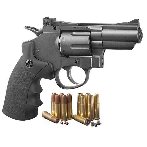 Crosman SNR357 CO2 Dual Ammo Full Metal Revolver,