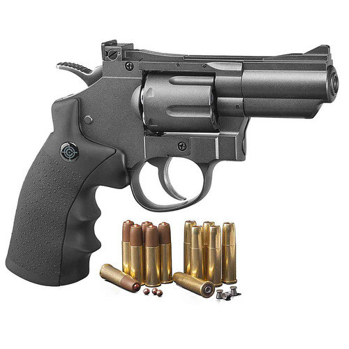 Crosman SNR357 CO2 Dual Ammo Full Metal Revolver,