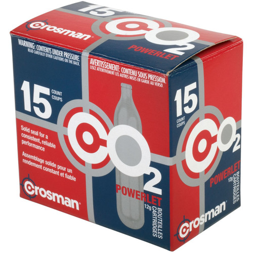 Crosman C2315 Copperhead CO2 12 Gram 15 Pack