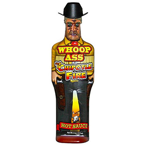 Whoop Ass' Chipotle Fire Hot Sauce