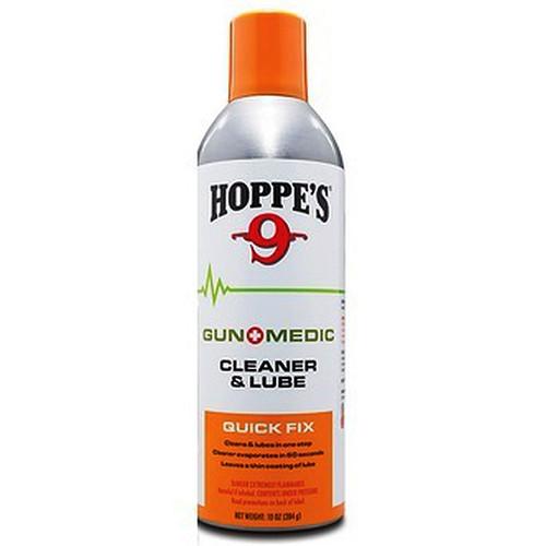 Hoppes Gun Medic Cleaner & Lube - Quick Fix 2 oz. Aerosol Can, GM4