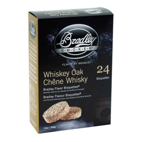 Bradley Smoker Bisquettes Whiskey Oak Flavor 24Pk