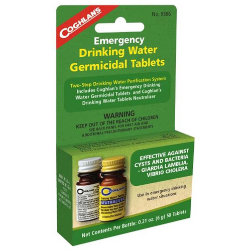 Coghlan's Two-Step Drinking Water Treatment
