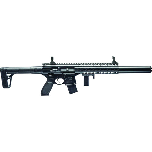 Sig Sauer MCX-177-88G-BL Semi-Auto Air Rifle .177Cal 30Rd CO2 Powered Matte Black MCX